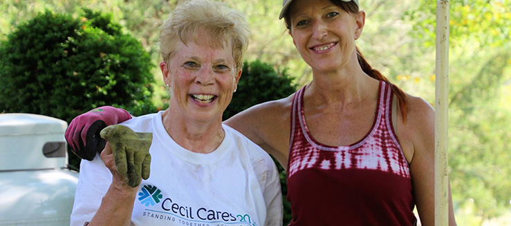 Cecil Cares Volunteers