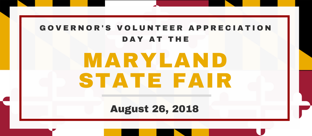 Governor's Volunteer Appreciation Day at the Maryland State Fair